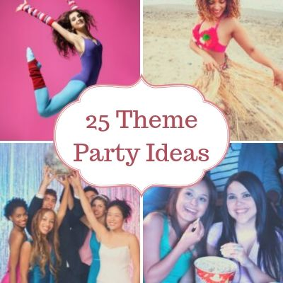 25 Direct Sales Theme Party Ideas